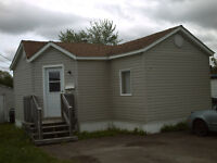 2 bdrm mini home - Aug 1st