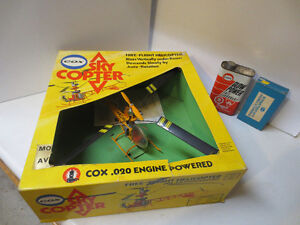 Vintage 1970's Cox Sky Copter in Box