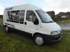 Lakeland Peugeot Boxer 2 berth campervan for Sale Ref 13054