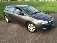 2012 Vauxhall Astra 1.3 CDTi ecoFLEX 16v Exclusiv Estate 5dr Diesel Manual