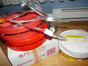 Kit pour le vin - Plaque de filtration Ferrari