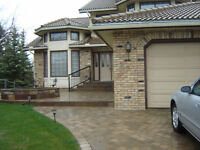 Replace your old concrete with beautiful Paving Stone!