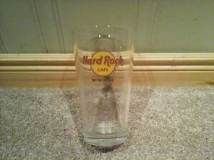 Hard Rock New York 16 oz glass cup Kitchener / Waterloo Kitchener Area image 1
