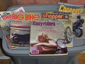 Magazine Collection dating back to 70's - 2 full tubs.