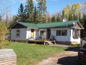 3 Bedroom trailer home on OWNED Land , QUICK SALE PRICE .