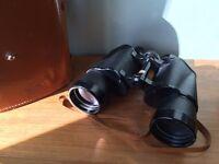 Zeiss 12 x 50 binoculars with case.