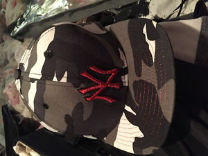 Brand new fitted NY/Camo cap Size  7 3/8 London Ontario image 1