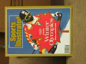 1988 Winter Olympics, Special Preview Issue, Sports Illustrated