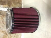 """Universal 2.75"""" Cold Air Intake Cone Filter for Car Truck SUV"""