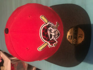 a85789acabad6 Pittsburgh pirates 7.5 8 fitted hat
