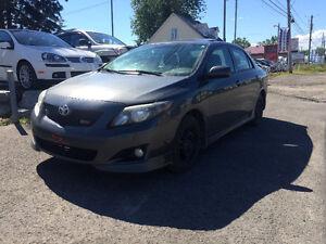 WOW!! 2010 Toyota Corolla XRS - 75$/Sem - FINANCEMENT MAISON