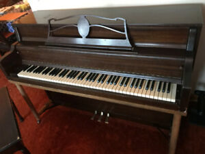 piano - upright henry herbert - all 88 keys work and in tune