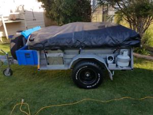 Australian made Galvanized Extreme off road camper trailer