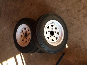 Carlisle Sport Trail Snowmobile Trailer Tires