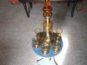 Decanter Set..6 Glasses Kitchener / Waterloo Kitchener Area image 2