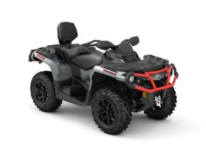 2018 Can-Am Outlander MAX XT 650 Brushed Aluminum  Can-Am Red