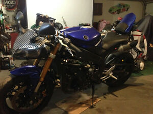 Yamaha r1 street fighter build