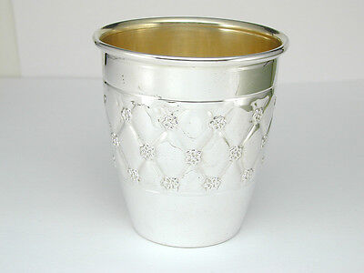 2137 Fine Made Small Cup in Precious Metal 100% Sterling Silver