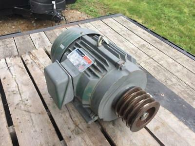 Reliance Electric 10hp Motor P21f312 1735rpm 230460v Frame 215t
