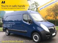 2013/ 63 Vauxhall Movano F3300 Cdti L2 [ Mobile Workshop ] H2 Van A/C Low miles
