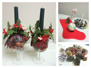 Christmas Décor and Craft Supplies