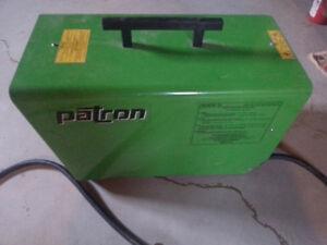 patron E9000 heavy duty electric heater 32000btu cost new $900