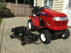 """Lawn Tractor 54"""" wide 25 HP."""