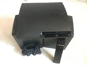 PlayStation 3 Slim with 29 games, 1 controller & remote