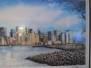 MEMORY of the TWIN TOWERS & NYC SKYLINE, by NICHOLAS SANTOLERI Kitchener / Waterloo Kitchener Area image 5