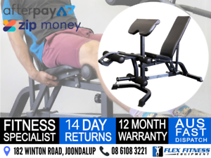 MULTI PURPOSE EXERCISE BENCH * Leg Curls/Extensions Preacher and More!