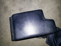 BMW E46 3 Series Black Leather Armrest OEM Great Condition