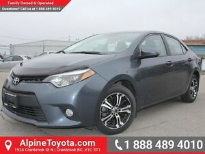2014 Toyota Corolla LE   Navigation, sunroof, leather, heated se