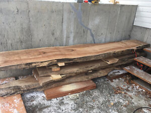 Maple Wood Slabs 9' to 11' lengths