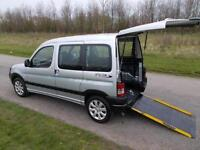 2008 Peugeot Partner Combi 1.6 Hdi ONLY 52K Wheelchair Accessible Disabled