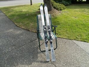 Volant Metal Skis and Poles