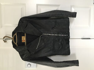 Vintage GENUINE LEATHER JACKET SZ XS