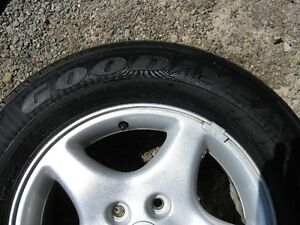 Goodyear Integrity 225/60r16 97s tires, excellent condition (4) Peterborough Peterborough Area image 3