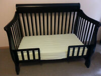 4-in-1 Convertible Crib and Toddler Bed
