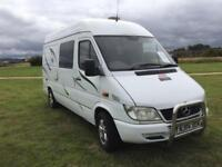 (12) MERCEDES - BENZ, SPRINTER 311 CDI MWB, 3 BERTH, MOTORHOME CONVERSION