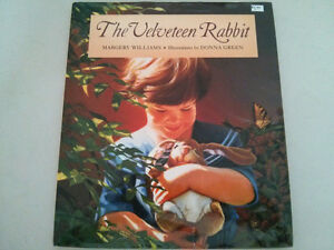 The Velveteen Rabbit hardcover book $5