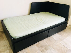 Single bed ikea