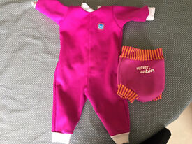 Splash About baby wetsuit & happy nappy