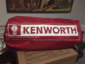 KENWORTH PRIVACY CURTAIN PACKAGE  • BRAND NEW