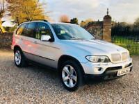 BMW X5 4.4 auto 2004(04)REG **Sport**PETROL/GAS(LPG)**METALLIC SILVER**TOP SPEC*