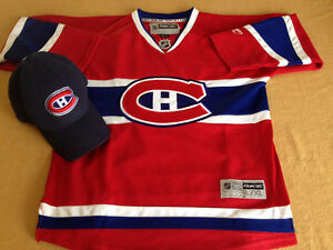 Montreal Canadiens Hockey Sweater and Cap