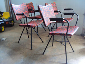 Set Of 4 Vintage 50s 60s ATOMIC CHAIRS Eames