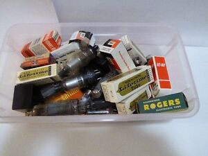 TV TUBES FOR VINTAGE TELEVISION SETS -- AS IS