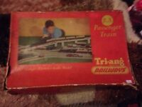 Vintage Old Triang R1X Passenger Train Railway Boxed Set - VGC - CAN DELIVER