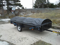 12 Ft Utility Trailer with heavy duty cover