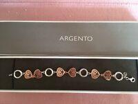 Argento Rose Gold Bracelet Jewellery